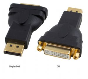 Hypertec Display Port M to DVI F Male to Femal 1.1a compliant