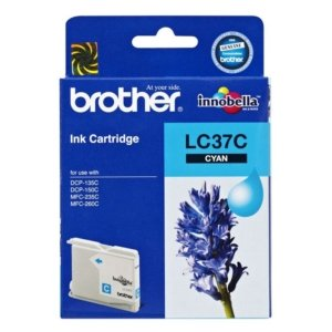 Brother LC-37C Cyan Ink Cartridge- to suit DCP-135C/150C