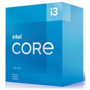Intel i3-10105F CPU 3.7GHz (4.4GHz Turbo) LGA1200 10th Gen 4-Cores 8-Threads 6MB 65W Graphic Card Required Box 3yrs Comet Lake Refresh