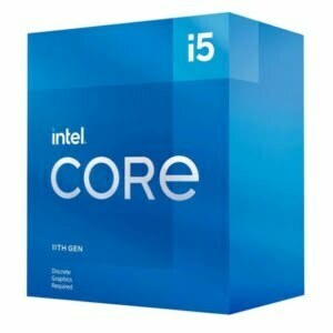 Intel i5-11400F CPU 2.6GHz (4.4GHz Turbo) 11th Gen LGA1200 6-Cores 12-Threads 12MB 65W Graphic Card Required Retail Box 3yrs Rocket Lake