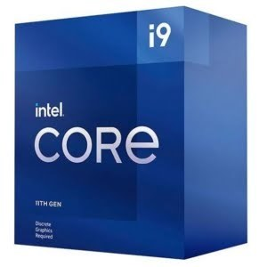 New Intel i9-11900F CPU 2.5GHz (5.2GHz Turbo) 11th Gen LGA1200 8-Cores 16-Threads 16MB 65W Graphic Card Required Retail Box 3yrs Rocket Lake