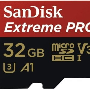 SanDisk 32GB microSD Extreme Pro SDHC SQXCG 100MB/s 90MB/s V30 U3 C10 UHS-1 4K UHD Shock temperature water  X-ray proof with SD Adaptor