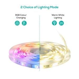 mbeat activiva 5m IP65 Smart RGB  Warm White LED Strip Lights