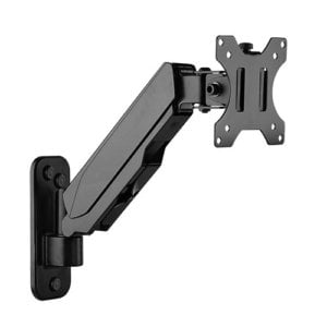 Brateck Single Screen Wall Mounted Gas Spring Monitor Arm
