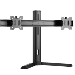 """Brateck Dual Screen Classic Pro Gaming Monitor Stand Fit Most 17""""- 27"""" Monitors"""
