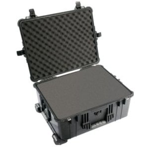Pelican 1610AB Large Case With Foam - Black