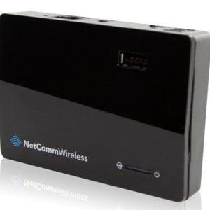 Netcomm 3G/4G AC Mobile Router Dual Band/1XGBIT/USB2/Hotspot (LS)