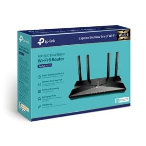 TP-Link Archer AX20 AX1800 Dual-Band Wi-Fi 6 Router