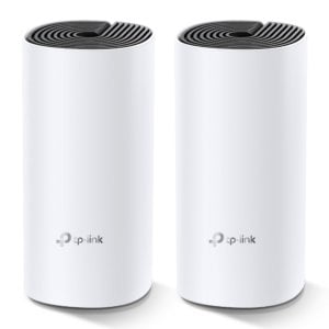 TP-Link Deco M4 (2-pack) AC1200 Whole Home Mesh Wi-Fi System.  ~260sqm Coverage