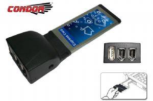 Condor USB  IEEE1394 Exp Card 1 x USB