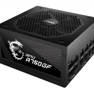 MSI MPG A750GF 750W Up to 90% (80 Plus Gold) ATX Power Supply Unit