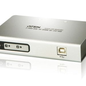 Aten Serial Hub 2 Port USB to RS232 Converter w/ 1.8m cable