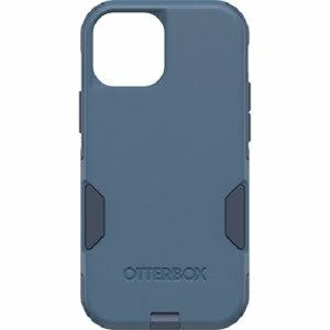 Otterbox Apple iPhone 13 mini Commuter Series Antimicrobial Case (77-83448) - Rock Skip Way (Blue) - Secure grip for confident handling