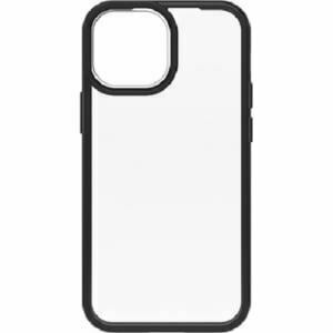 OtterBox Apple iPhone 13 mini React Series Case- Black Crystal (Clear/Black) ( 77-85581 ) - one-piece design case slips easily in and out of pockets.