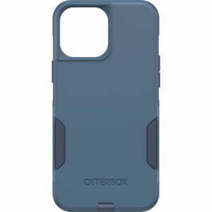 OtterBox Apple iPhone 13 Pro Max Commuter Series Antimicrobial Case (77-83456) - Rock Skip Way (Blue) - Made with 35% recycled plastic