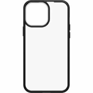 OtterBox Apple  iPhone 13 Pro Max React Series Case (77-85597) -  Black Crystal (Clear/Black) -  Slips easily in and out of pockets