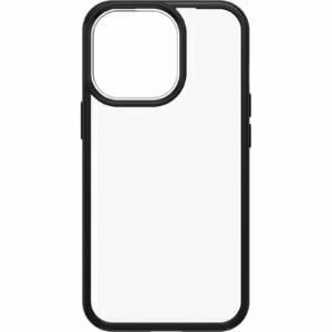 OtterBox iPhone 13 Pro React Series Case ( 77-85593 ) - Clear / Black - Raised screen bumpers help protect touchscreen