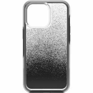 OtterBox Apple  iPhone 13 Pro Symmetry Series Clear Antimicrobial Case -(77-83492)  Ombre Spray (Clear/Black)