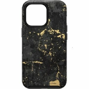 OtterBox Apple iPhone 13 Pro Symmetry Series Antimicrobial Case -(77-83576) Enigma Graphic (Black/Gold)
